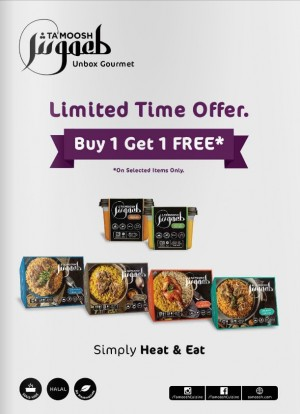 Tamoosh Gourmet Buy 1 Get 1 FREE