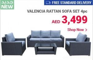 New Valencia Rattan Sofa Set