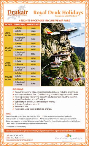 Royal Druk Holidays-Bhutan Package
