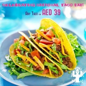Celebrating National Taco Day at Rosa Mexicano