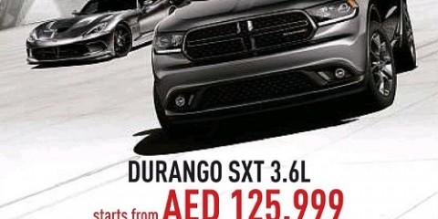 Durango SXT 3.6L Special Offer