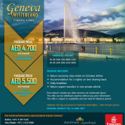 Geneva Switzerland Tour Package Offer