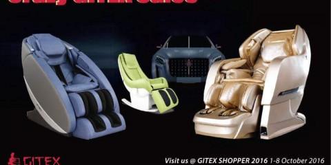 Isukoshi 3D Massage Chairs Crazy GITEX Sales