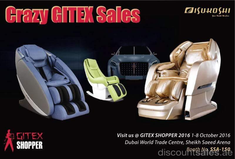 Isukoshi 3D Massage Chairs Crazy GITEX Sales DiscountSalesae