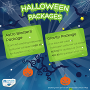 Magic Planet Halloween Package Offers