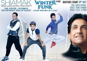 SHIAMAK WINTER FUNK Dance Classes for Kids, Teens & Adults