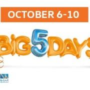 The Big 5 Day Sale at Das Welt Auto Volkswagen