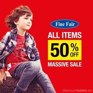 The Massive 50% Sale at Fine Fair Store