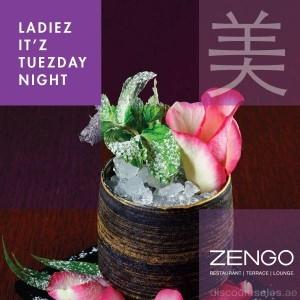 Zengo Ladies Night Special Offer