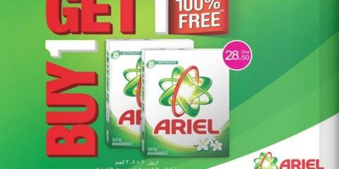 Buy 1 Get 1 FREE Ariel Detergent