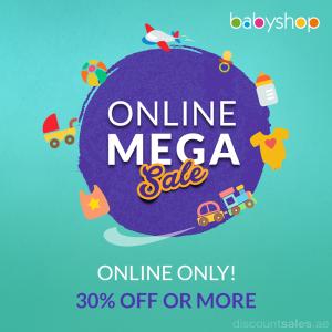 Babyshop Online Mega Sale Promo
