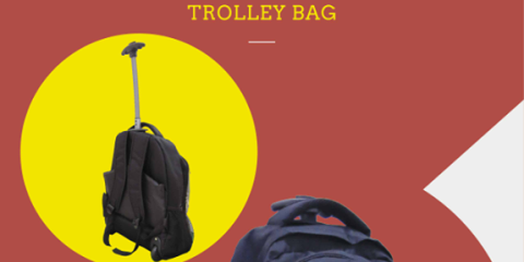 Bossini FREE* Backpack Trolley Bag