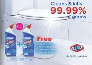 Clorox Toilet Cleaner Buy 1 Get 1 FREE