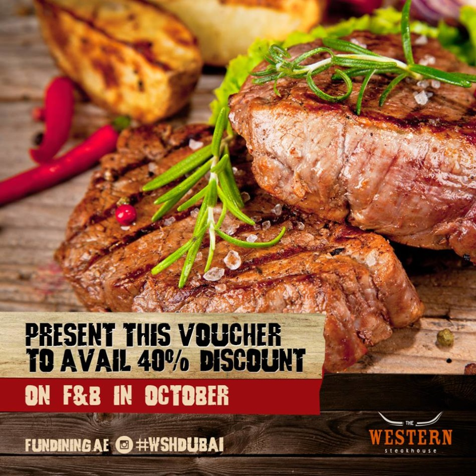Western Steakhouse Special Discount