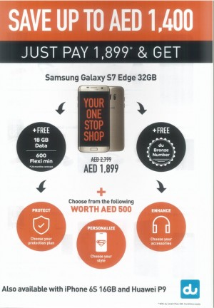 Samsung Galaxy S7 Edge Special Promo