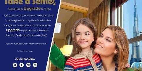 Dusit Thani Dubai Selfie Promo