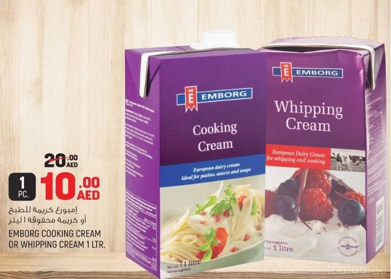 Emborg Creams Exclusive Offer