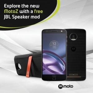 New MotoZ FREE JBL Speaker mod