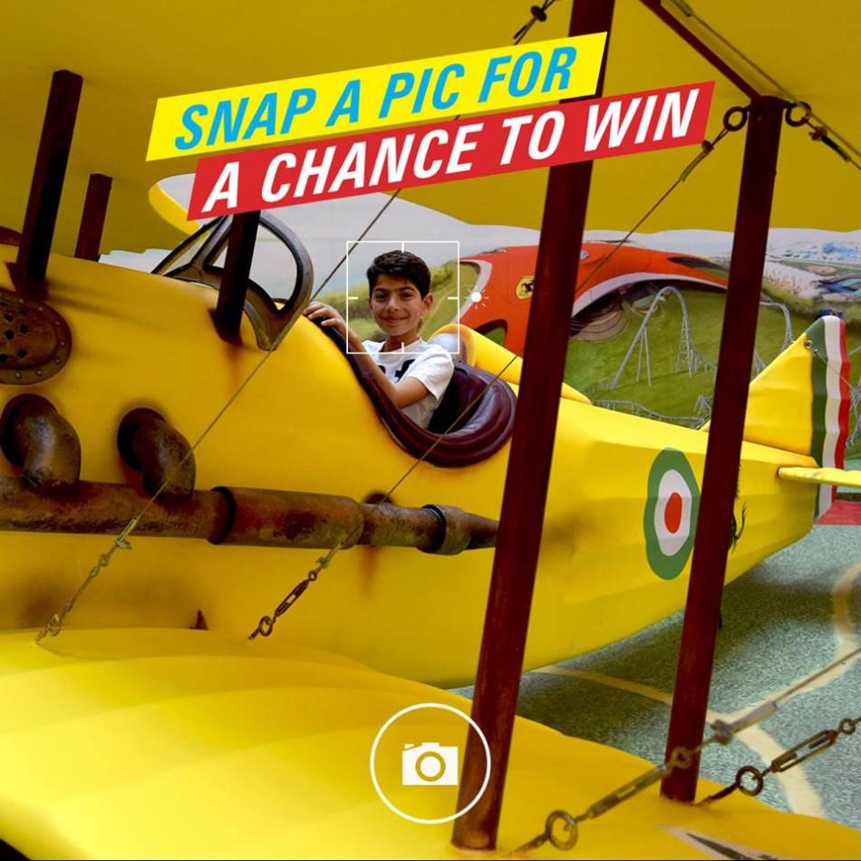 Ferrari World Snap A Pic Challenge