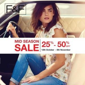 F&F Mid Season Sale