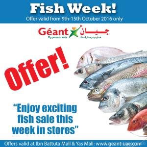 Geant Hypermarkets Fish Week Offers
