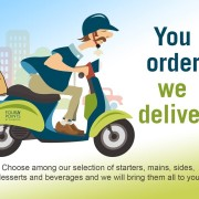 You Order We Deliver Promo
