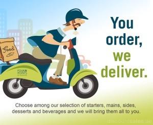 You Order We Deliver Promo