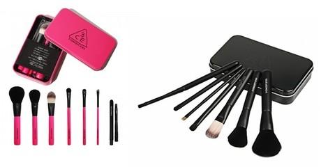 Mini Travel Brush Kit Set