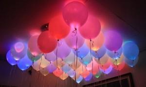 LED Flashing Balloon Light