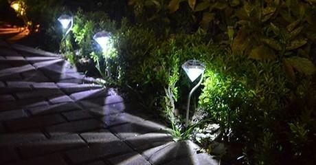 Two White LED Lights