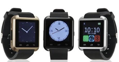 Touch-Screen Bluetooth Smartwatch