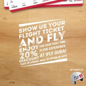 iFly Dubai Special Promo