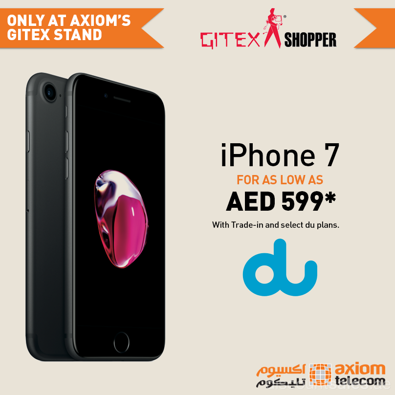 Iphone 7 Exclusive Offer For As Low As Aed 599 Axiom