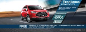 JAC Motors Special Offer