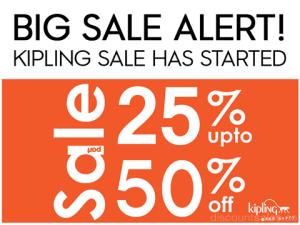 Kipling Part Sale Promo