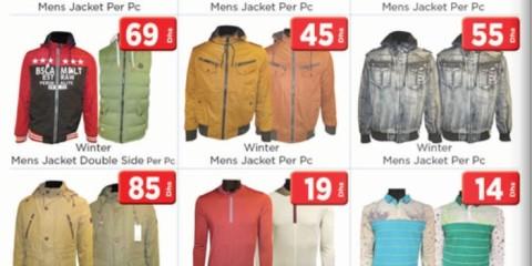 Men's & Ladies Apparels Budget Deals