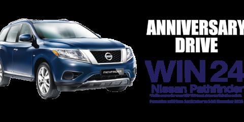 Nissan Anniversary Drive WIN Promo