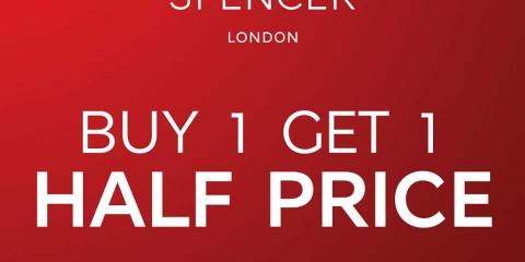 Marks & Spencer BUY 1 GET 1 Half Price Promo