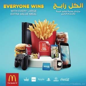 McDonald's Everyone Wins Promo