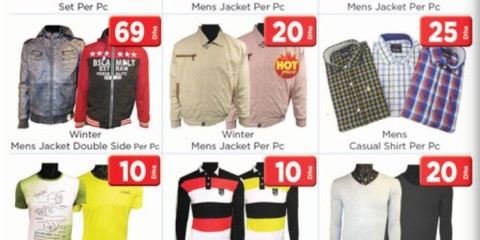 Assorted Men's Apparel Special Deal