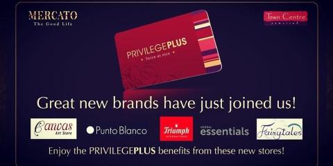 Mercato Mall PrivilegePLUS New Offers