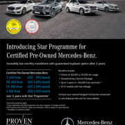 Pre-Owned Mercedes Benz Exclusive Offer
