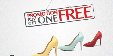 Migato Shoes Buy 1 Get 1 FREE Promo