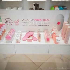 Nail Spa's Wear A Pink Promo