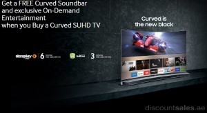 Samsung SUHD Curved TV Special Offer