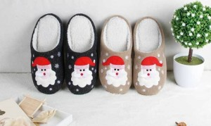 Santa Claus Christmas Slippers