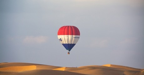 One Hour Hot Air Balloon Ride: Child AED 695