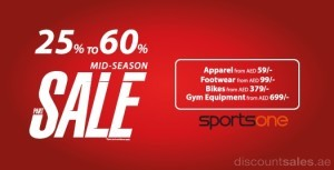 SportsOne Mid-Season Sale