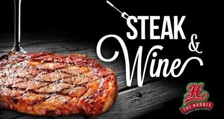 Huddle Steak & Wine