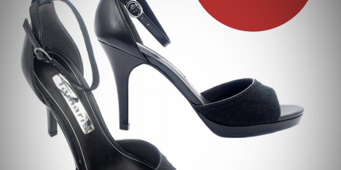 Tamaris Black sandal